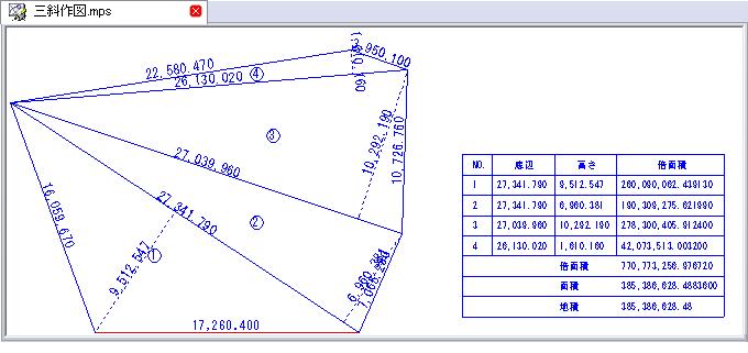 AS-基本セット1 三斜作図 のコマンド - 構造システム・グループ